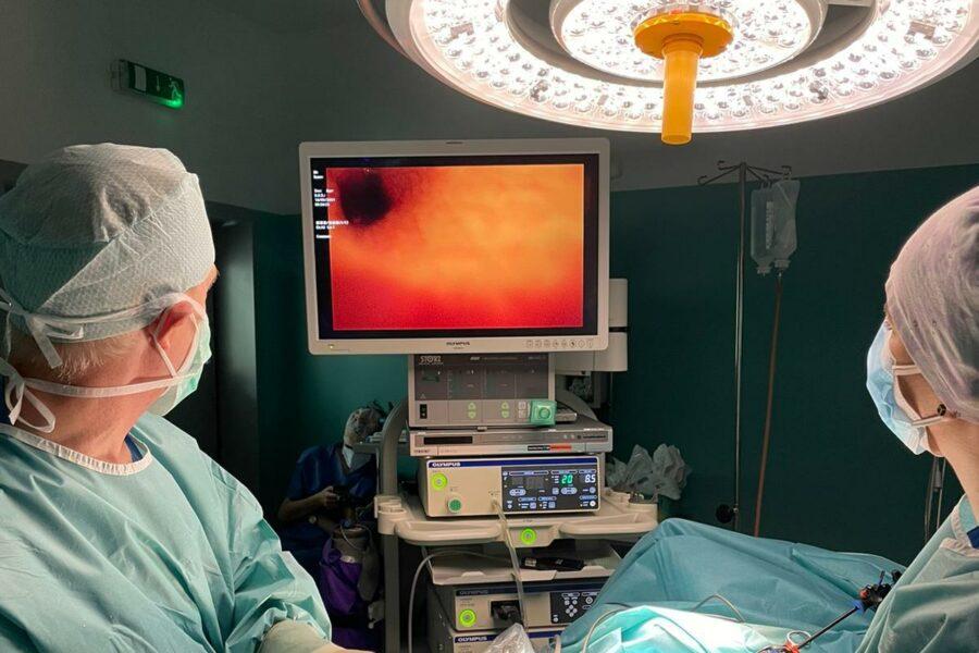 Veľký nádor odstránili Alžbetke laparoskopickou operáciou